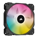 Corsair SP140 RGB ELITE, 140mm RGB LED Fan with AirGuide, Dual Pack with Lighting Node CO