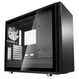 Fractal Design Define R6 Light Tempered Glass Side Panel - Black