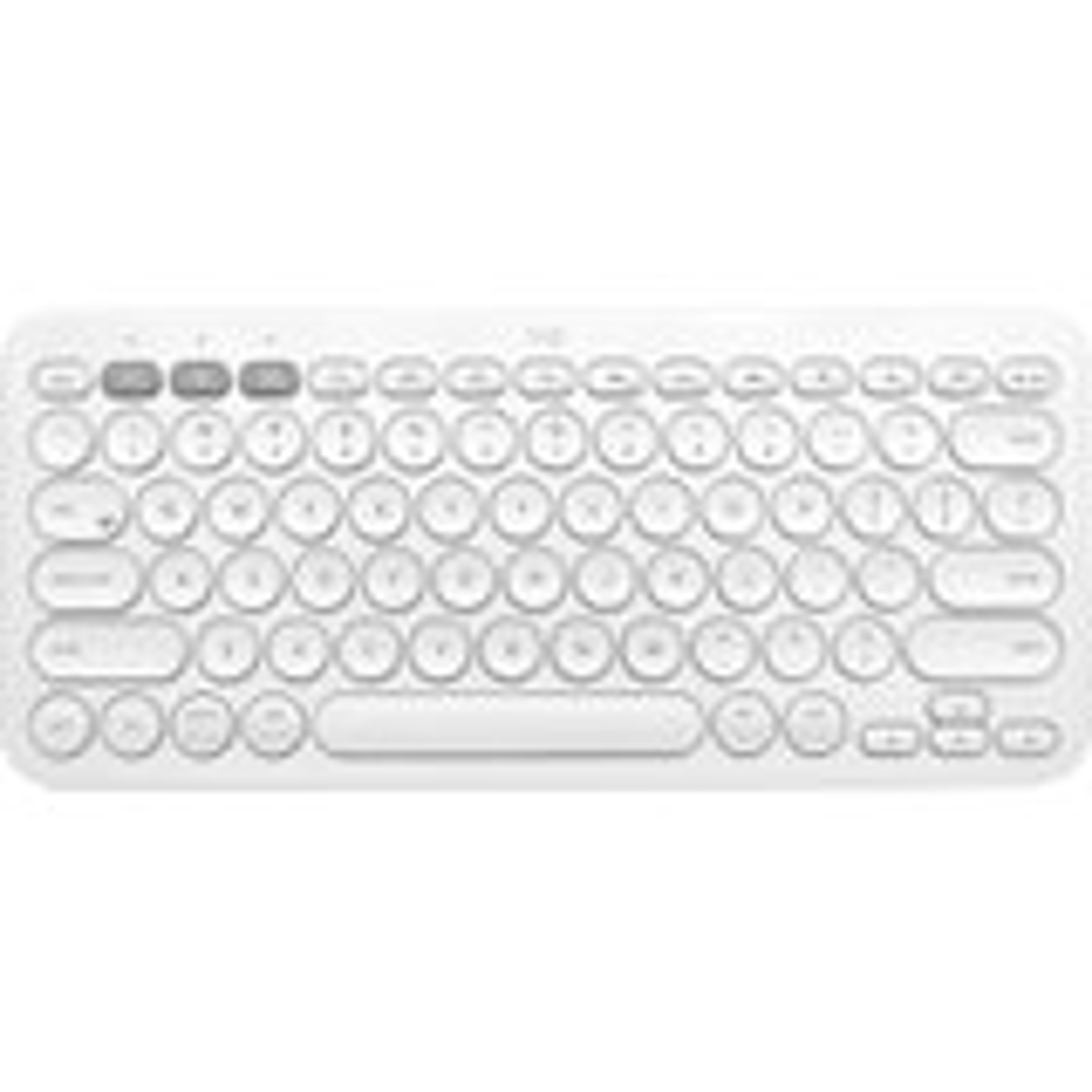 Logitech K380 for Mac Multi-Device Bluetooth Keyboard - OFFWHITE - UK - INTNL