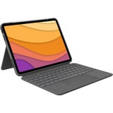 Logitech Combo Touch for iPad Air (4th generation) - GREY - UK - INTNL